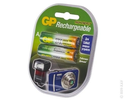 Аккумулятор GP GP270AAHC-2CR2 2700 mAh