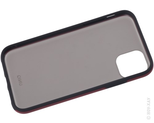 Панель-накладка Uniq Vesto Maroon Red для Apple iPhone 11. Изображение 2.