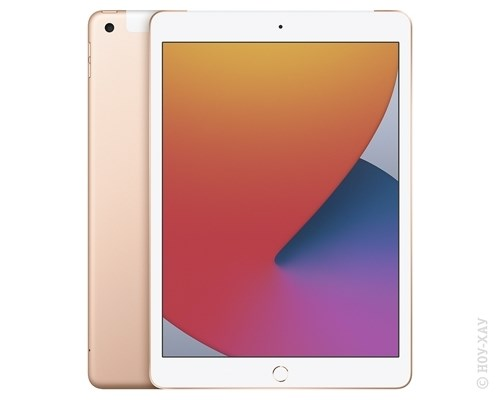 Apple iPad 10.2 (2020) Wi-Fi + Cellular 128Gb Gold. Изображение 1.
