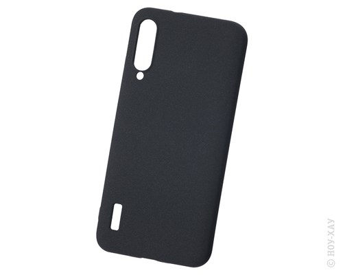 Панель-накладка NewLevel Fluff TPU Hard Black для Xiaomi Mi A3. Изображение 1.