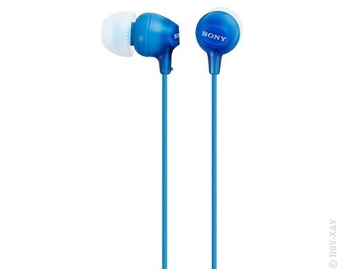 Наушники Sony MDR-EX15LP Turquoise Blue