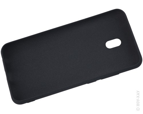 Панель-накладка NewLevel Fluff TPU Hard Black для Xiaomi Redmi 8A. Изображение 2.