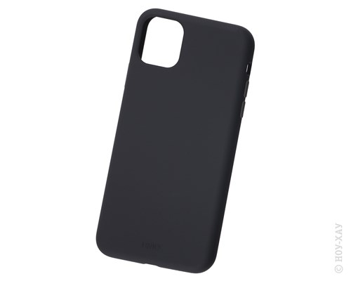 Панель-накладка Uniq Lino Black для Apple iPhone 11 Pro Max. Изображение 1.