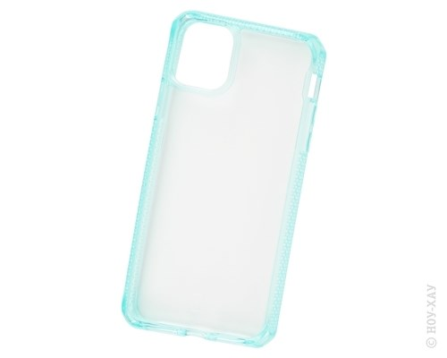 Панель-накладка Itskins Hybrid Clear Mint для Apple iPhone 11 Pro Max APXM-HBMKC-TGTR. Изображение 1.