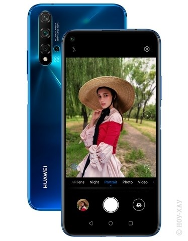 Обзор Huawei Nova 5T 6/128Gb Crush Blue. Рис.11