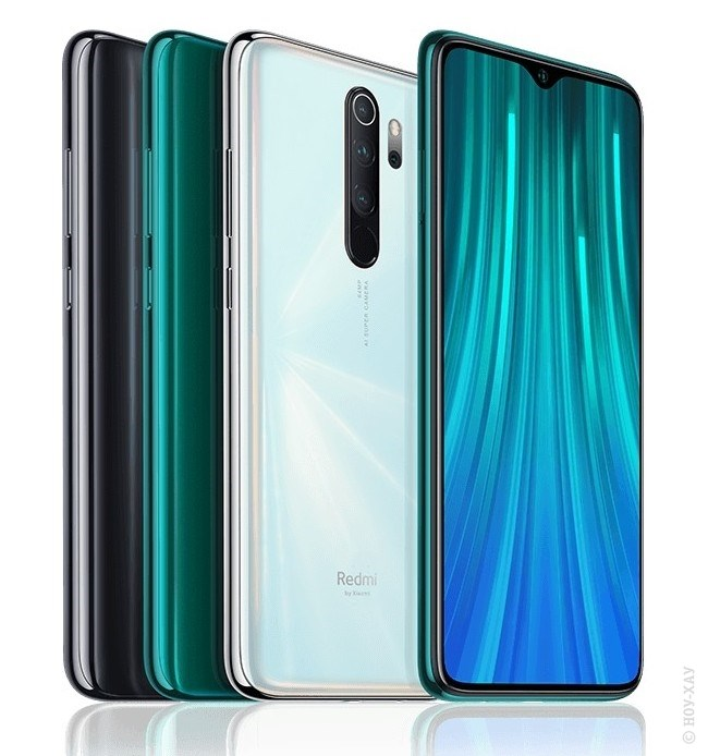 Обзор Xiaomi Redmi Note 8 Pro 6/128Gb Forest Green. Рис.1