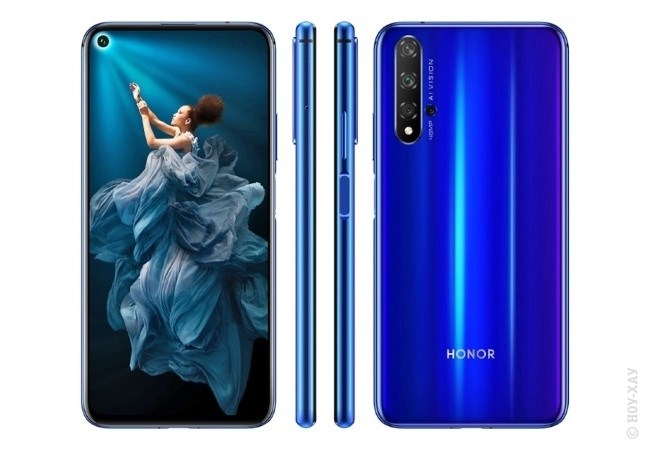 Обзор Honor 20 Pro 256Gb Phantom Blue. Рис.1