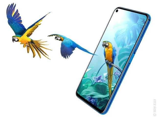 Обзор Huawei Nova 5T 6/128Gb Crush Blue. Рис.5
