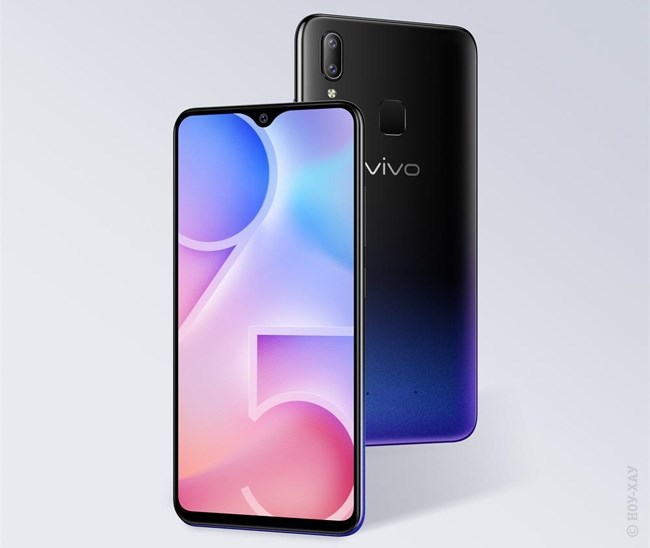 Обзор Vivo Y95 Aurora Red. Рис.1
