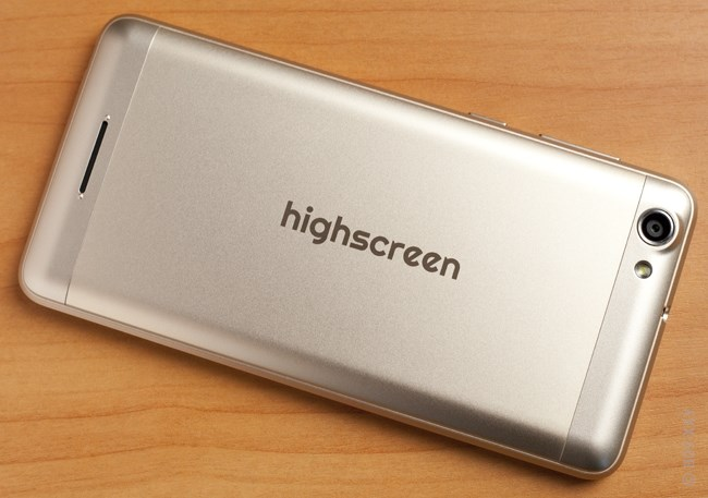 Обзор Highscreen Power Rage Evo Blue. Рис.2