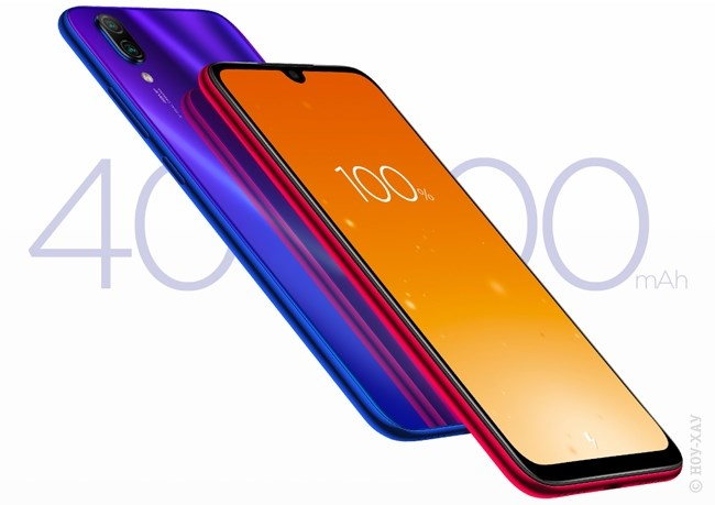 Обзор Xiaomi Redmi Note 7 4/64Gb Neptune Blue. Рис.10
