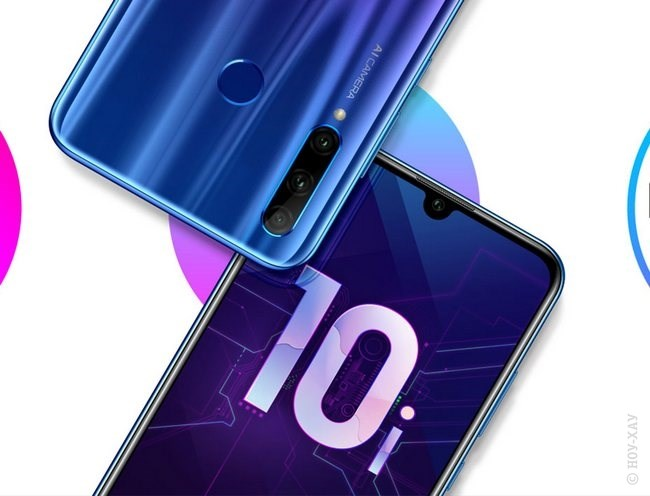 Обзор Honor 10 Lite 64Gb Blue. Рис.19