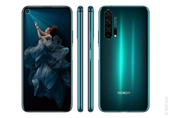 Обзор Honor 20 Pro 256Gb Phantom Blue. Рис.2