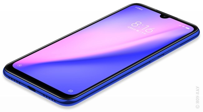 Обзор Xiaomi Redmi Note 7 4/64Gb Neptune Blue. Рис.3