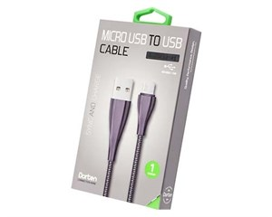 Кабель USB Dorten Micro USB to USB Cable Armor Series 1 м Black