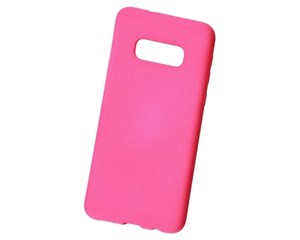 Панель-накладка NewLevel Rubber TPU Hard Pink для Samsung Galaxy S10e