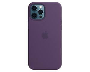 Панель-накладка Apple Silicone Case with MagSafe Amethyst для iPhone 12 Pro Max