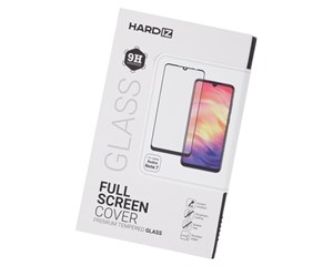 Стекло защитное Hardiz Full Screen Cover Premium Tempered Glass Black Frame для Xiaomi Redmi Note 7