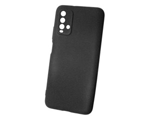Панель-накладка NewLevel Fluff TPU Hard Black для Xiaomi Redmi 9T