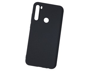 Панель-накладка NewLevel Fluff TPU Hard Black для Xiaomi Redmi Note 8T