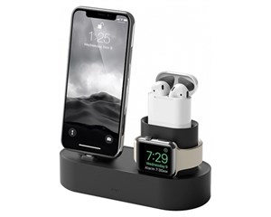 Док-станция Elago 3 in 1 Charging Hub Black EST-TRIO-BK