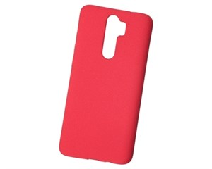 Панель-накладка NewLevel Fluff TPU Hard Red для Xiaomi Redmi Note 8 Pro