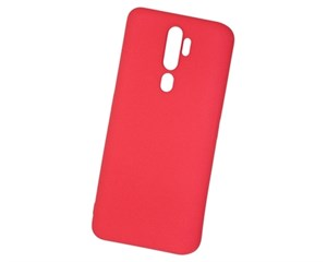 Панель-накладка NewLevel Fluff TPU Hard Red для Oppo A5/A9 2020