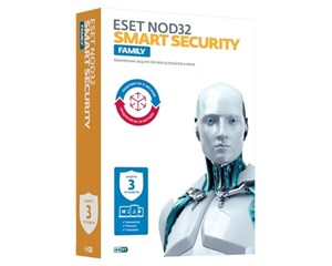 Eset NOD32 Smart Security FAMILY (3 устройства 1 год)