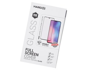 Стекло защитное Hardiz Full Screen Cover Premium Tempered Glass Black Frame для Xiaomi Mi 9 SE