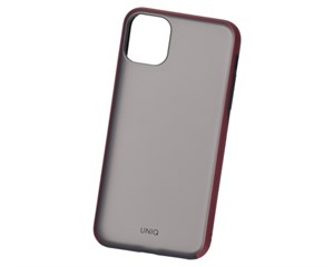 Панель-накладка Uniq Vesto Maroon Red для Apple iPhone 11 Pro Max