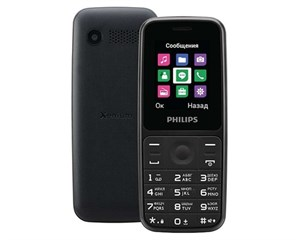 Philips Xenium E125 Black