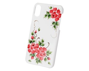 Панель-накладка iCover Sweet Rose Red для Apple iPhone X IPX-HP/W-SR/R