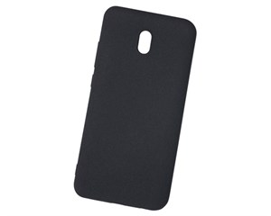 Панель-накладка NewLevel Fluff TPU Hard Black для Xiaomi Redmi 8A