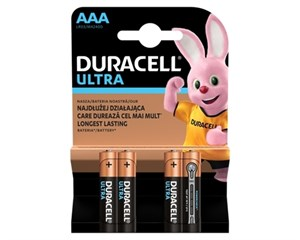 Батарейка Duracell LR03 Ultra Power 4 шт.