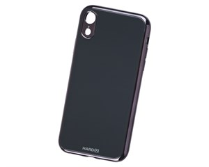 Панель-накладка Hardiz Glass Case Black для Apple iPhone XR