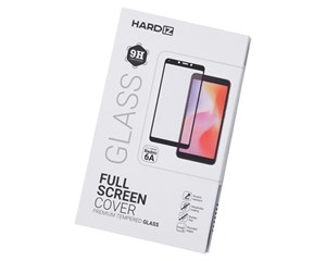 Стекло защитное Hardiz Full Screen Cover Premium Tempered Glass Black Frame для Xiaomi Redmi 6/6A