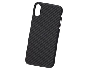 Панель-накладка Hardiz Carbon Case Black для Apple iPhone XS