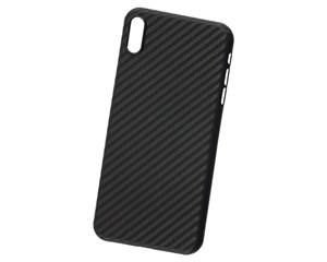 Панель-накладка Hardiz Carbon Case Black для Apple iPhone XS Max