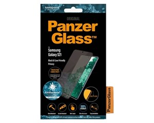Стекло защитное PanzerGlass Case Friendly Black Frame для Samsung Galaxy S21