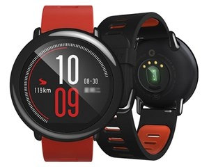 Xiaomi Huami Amazfit Smart Watch Red
