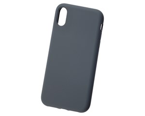 Панель-накладка Hardiz Liquid Silicone Case Smoke для Apple iPhone XR