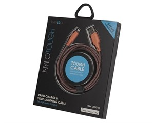 Кабель USB EnergEA NyloTough Lightning USB Cable 1,5 м Orange