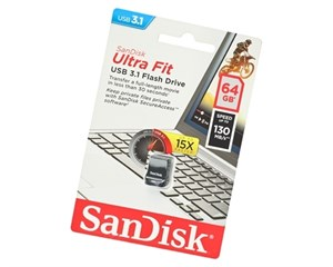 Накопитель USB SanDisk Ultra Fit USB 3.1 64Gb SDCZ430-064G-G46