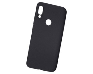 Панель-накладка NewLevel Fluff TPU Hard Black для Xiaomi Redmi 7