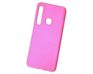 Панель-накладка NewLevel Rubber TPU Hard Pink для Samsung Galaxy A9 (2018)