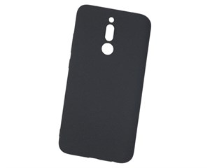 Панель-накладка NewLevel Fluff TPU Hard Black для Xiaomi Redmi 8