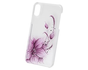 Панель-накладка iCover Flower Purple для Apple iPhone X IPX-HP/C-FB/PP