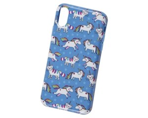 Панель-накладка Phoenix Unicorns Blue для Apple iPhone X/XS
