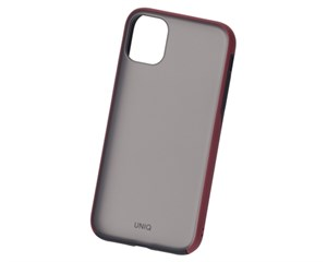 Панель-накладка Uniq Vesto Maroon Red для Apple iPhone 11