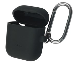 Чехол Elago Hang Case Black для зарядного кейса AirPods